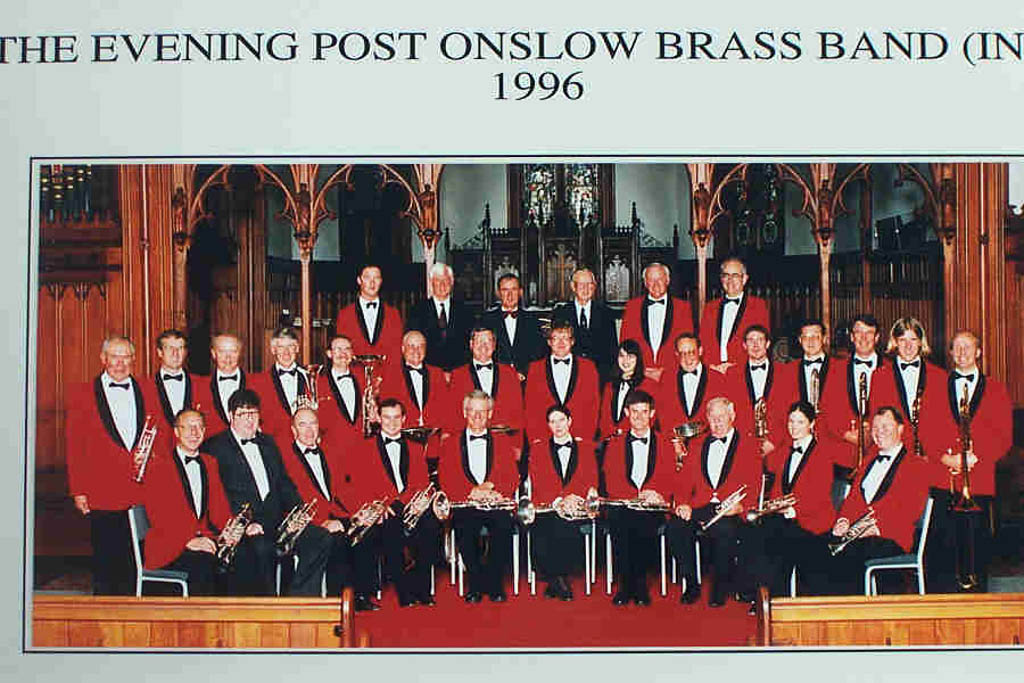 The Evening Post Onslow Brass Band.