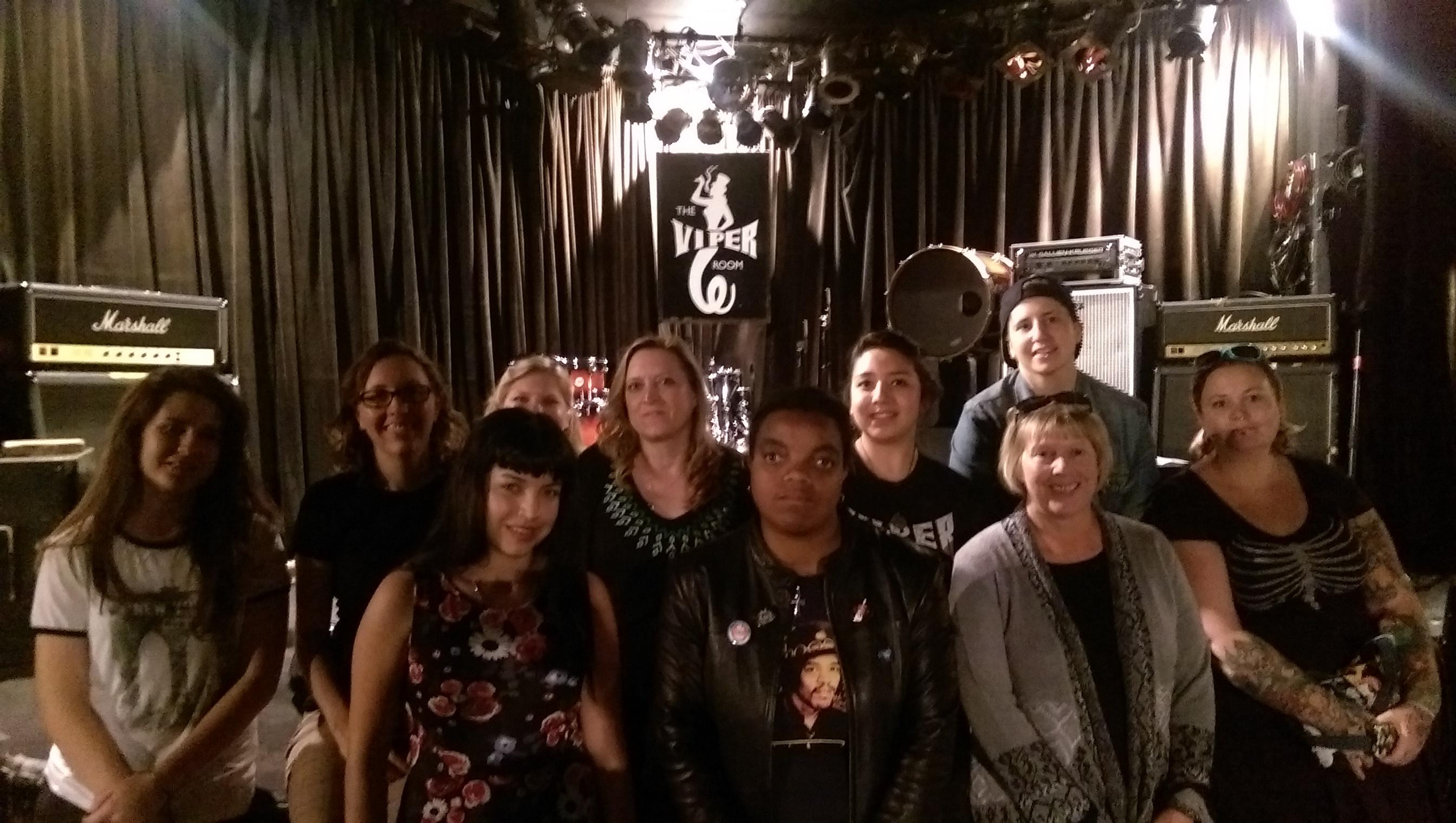 The Viper Room Meet Up – SoundGirls.org