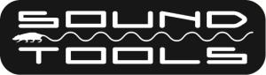 Soundtools Logo Rounded edges white on black