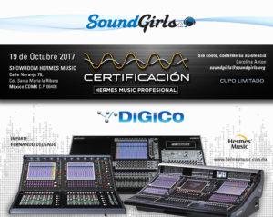Sold Out - Mexico City DiGiCo Training @ Show Room Hermes Music; | Ciudad de México | Ciudad de México | Mexico