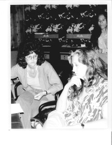Leslie, Bonnie Raitt and June Millington, circa 1979