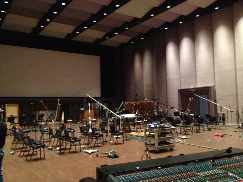 Scoring Stage at Skywalker Sound