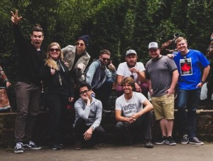 Saint Motel Tour Crew