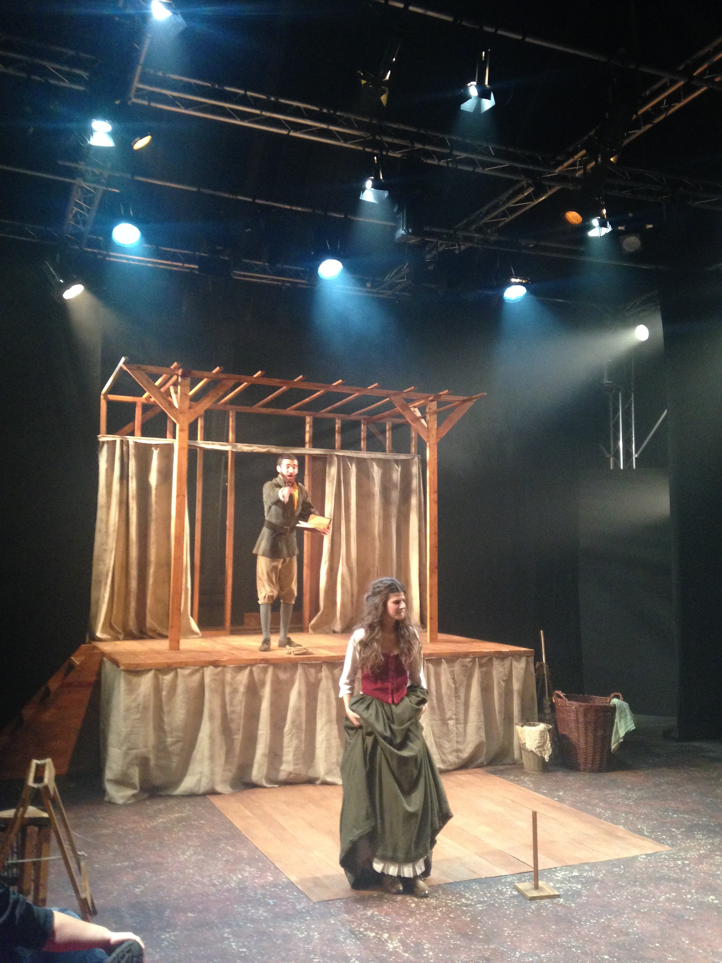 the sound of the elizabethan era sound design for shakespeare s